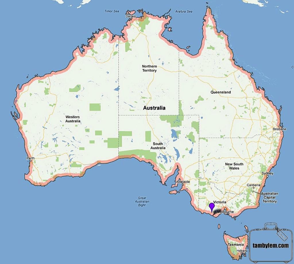 Australia_Mapa