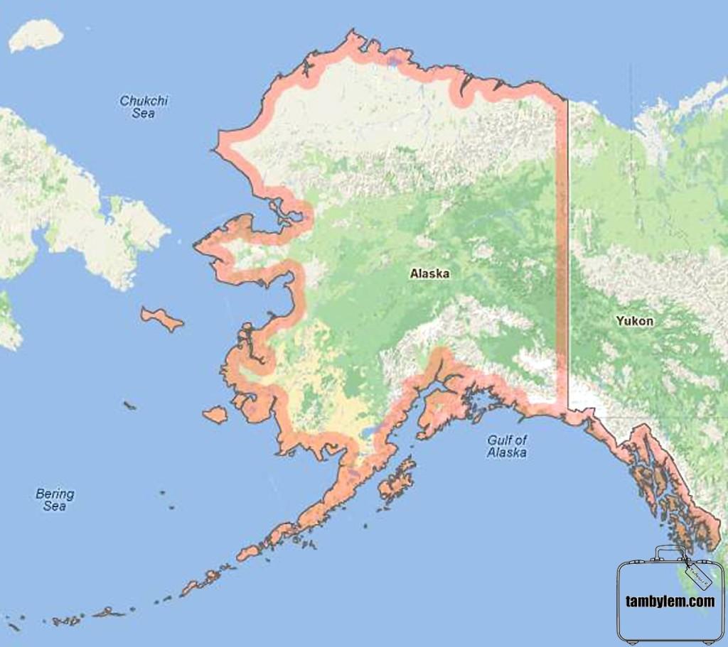 Mapa-Alaska