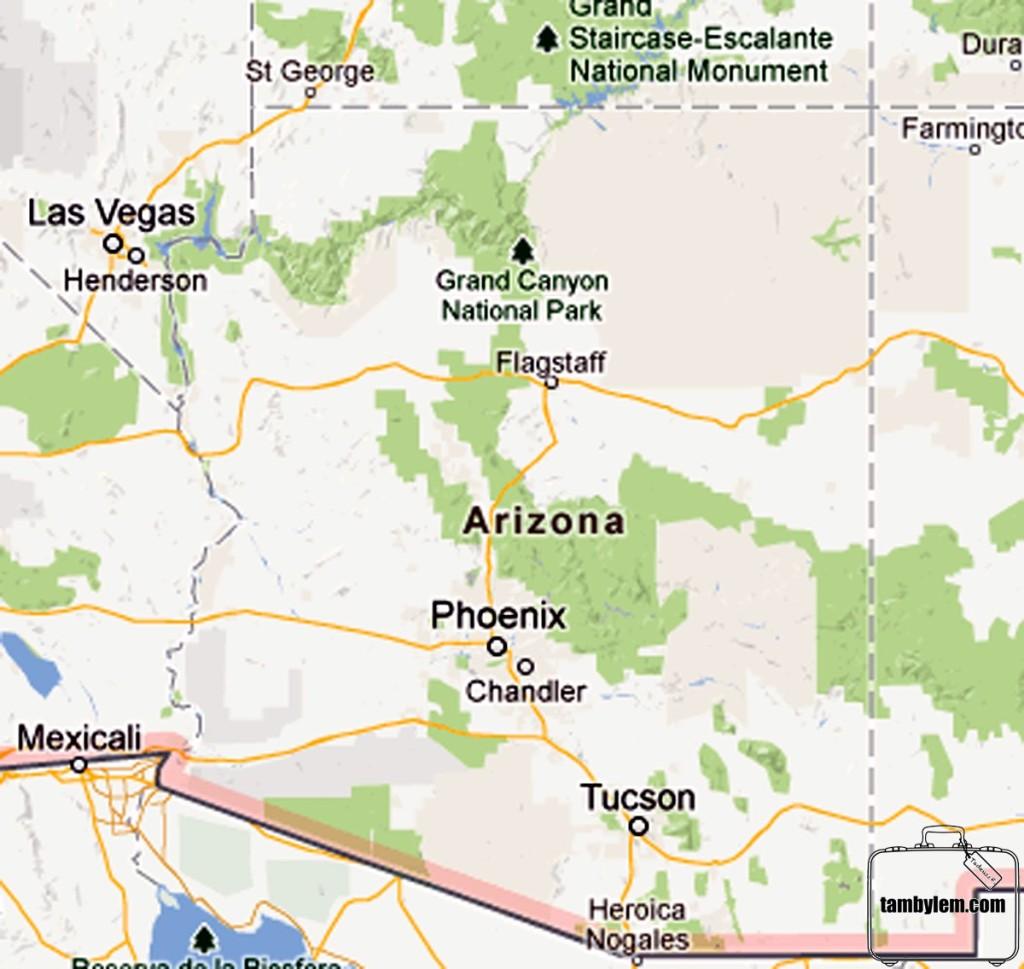 Mapa-Arizona
