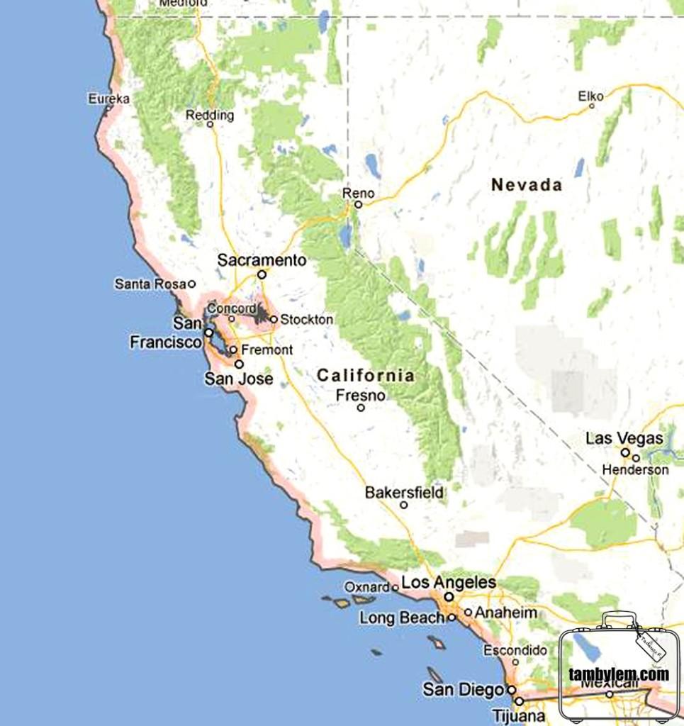 Mapa-California