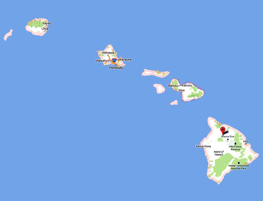 Mapa-Hawaii