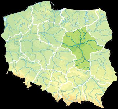 Mazowieckie_Mapa