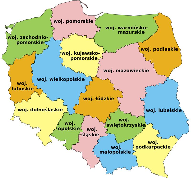 Wojewodztwa_Polskie