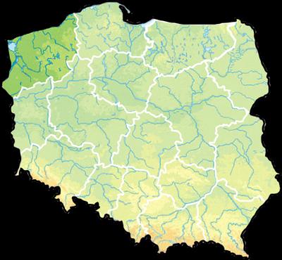 Zachodniopomorskie_Mapa
